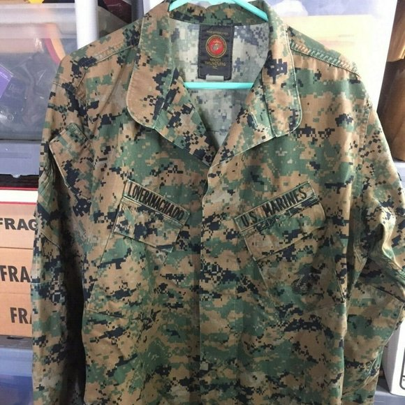 Other - US Marines Military Camouflage Jacket MD